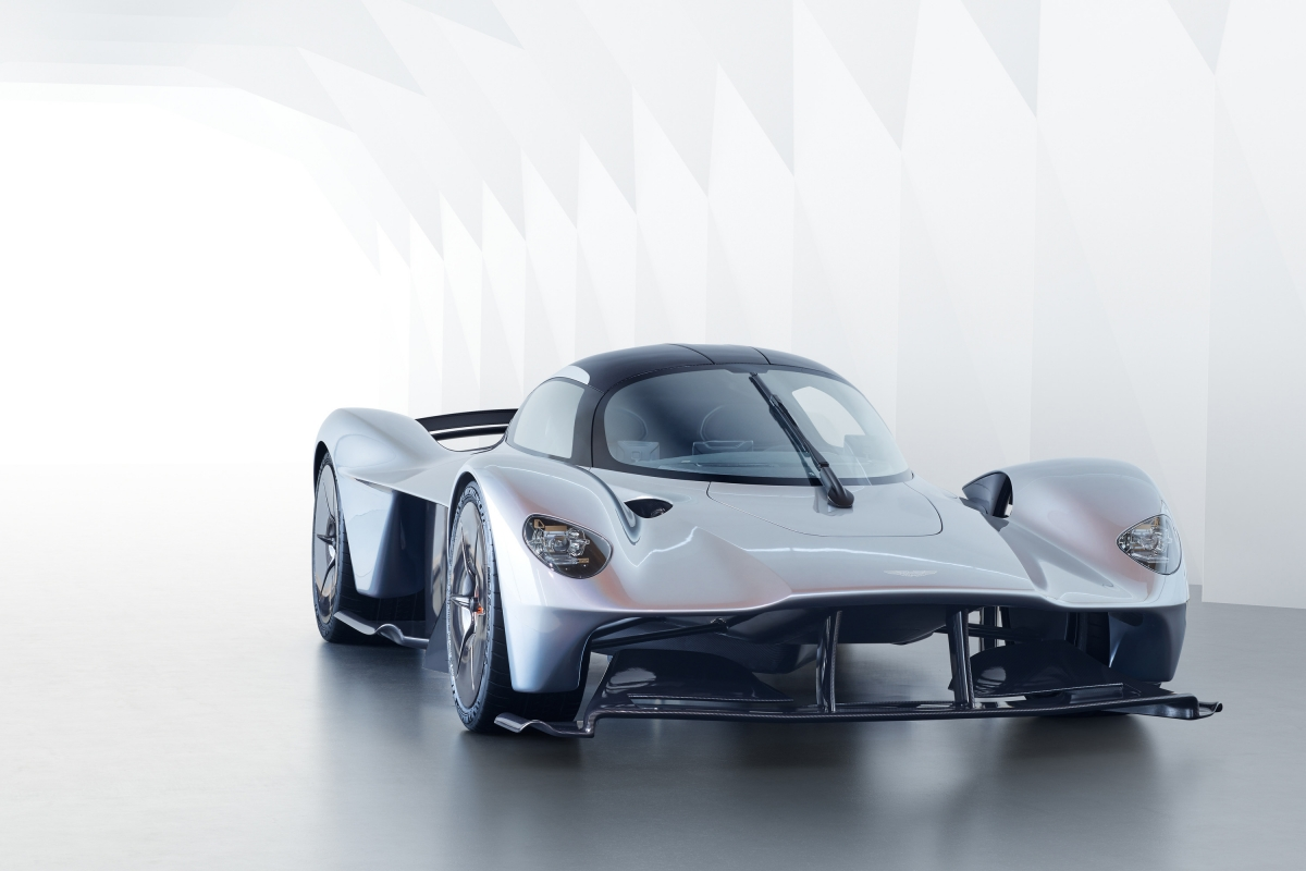 Aston Martin Valkyrie V12 engine makes its debut with 1000hp